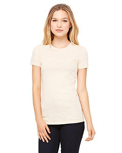 Bella womens The Favorite T-Shirt(6004)-SOFT CREAM-XL