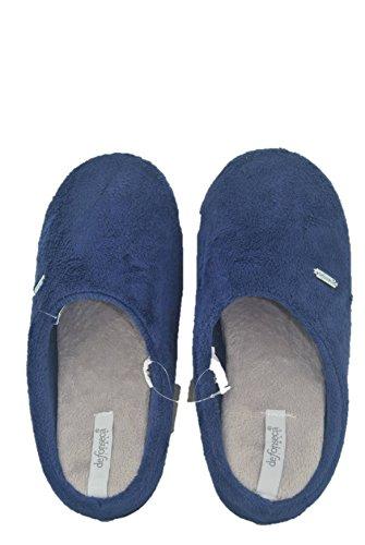 DE FONSECA Pantofole pianelle PANNO Donna Blu Tavbgojc