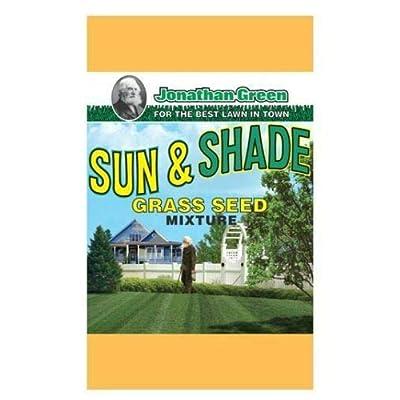 Jonathan Green 12005 Sun and Shade Grass Seed Mix, 7 lbs : Garden & Outdoor