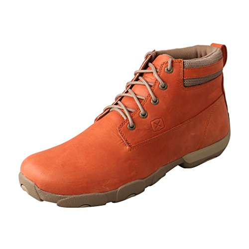 Twisted X Mens Sunburn Driving Moccasins Sunburn