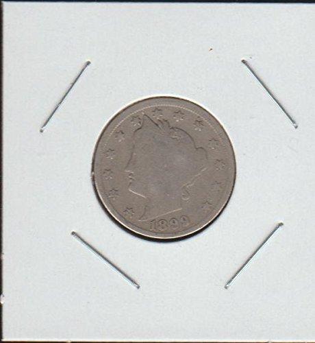 "1899 Liberty Head or""V"" (1883-1913) Nickel Very Fine"