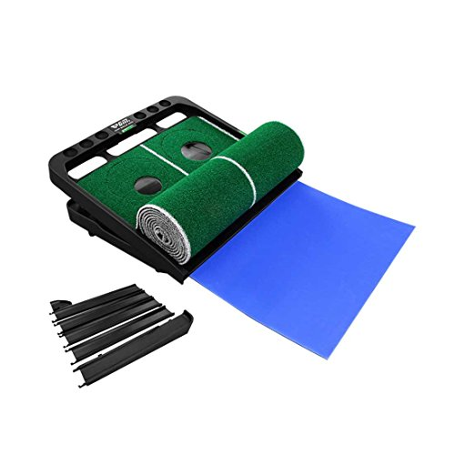 Novelty Golf Putting Trainer Indoor Golf Putting Green System----Auto Return,Extra Wide than Others,20inch Width by PGM (Image #3)