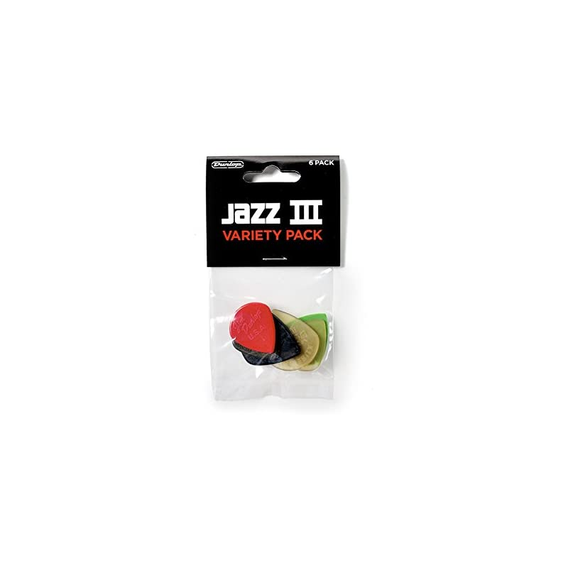 Dunlop PVP103 Pick Variety Pack - Jazz I