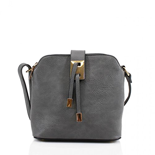 Handbags Body Women BODY Body Holiday For Designer Bag For LeahWard Cross Bags Small GREY DARK Shoulder 9739 CROSS Size Across 4AWHwPWF7