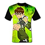 Ben-10 Monsters Mens Raglan T-Shirt Fashion Tees Printing Jersey Shirts Undershirt