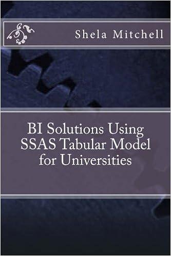 BI Solutions Using SSAS Tabular Model for Universities
