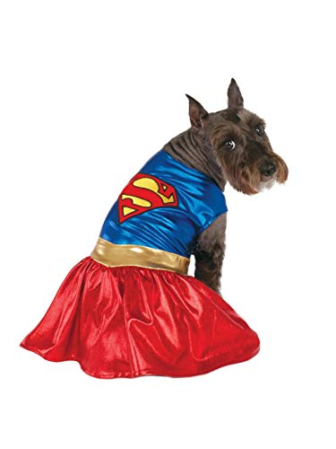 DC Comics Pet Costume, Medium, Supergirl -