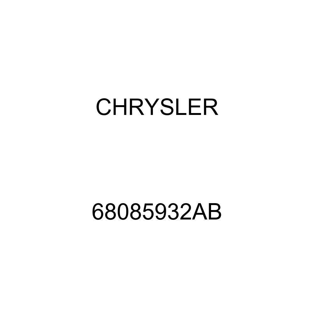 Genuine Chrysler 68085932AB Fuel Filler Hose
