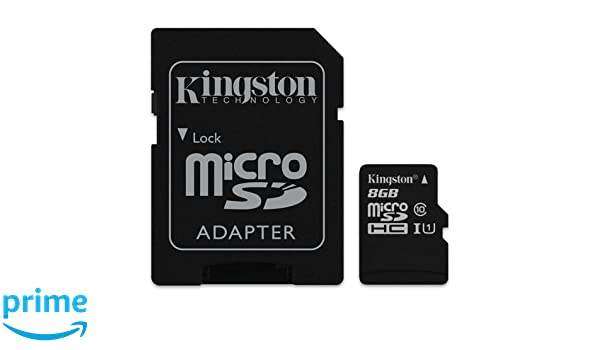 Tarjeta de Memoria Kingston 8GB Micro SD: Amazon.es: Electrónica