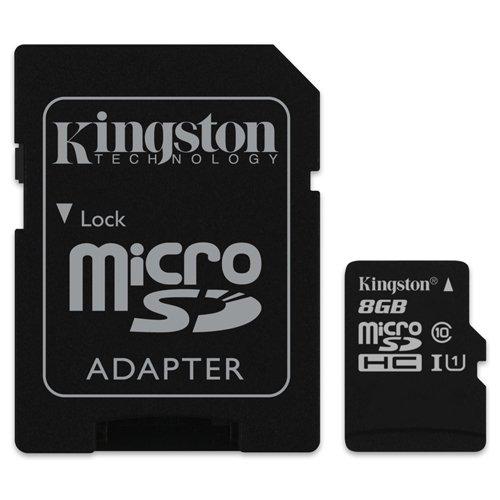 Carte Mé moire Kingston 8Go Micro SD Compatible Nokia Lumia 630