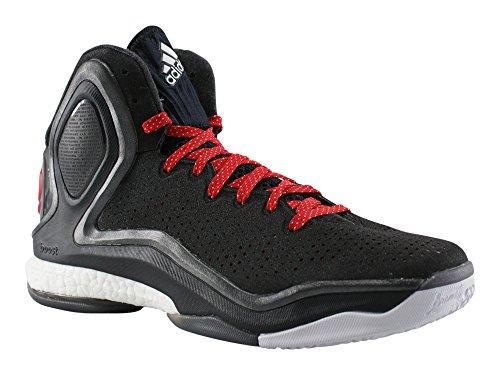adidas D Rose 5 Boost G98704, Basketballschuhe Schwarz