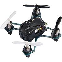 Eshion Hubsan Nano Q4 H111 4-CH 2.4GHz Mini Drone RC Quadcopter RTF with 2.4Ghz Radio System (Black)