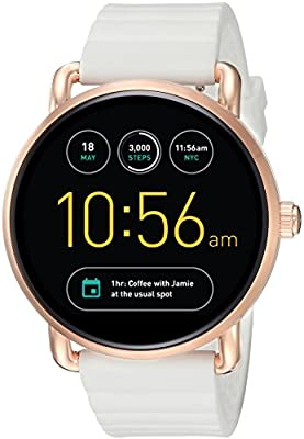 Fossil Q Wander Gen 2 White Silicone Touchscreen Smartwatch FTW2114 from Fossil Watches