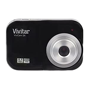 41xdopMNa6L. SS300  - Vivitar 5.1MP Digital Camera - Color and Style May Vary
