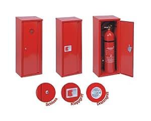 Extintor Caja protectora/armario 12kg extintor Camiones/Exteriores