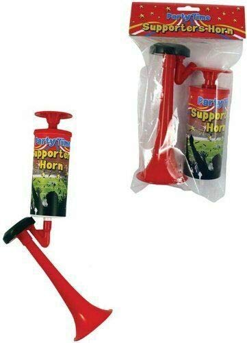 TC143 New Hand-Operated Air Horn Each Squeeze of the Plunger will Blow the Horn