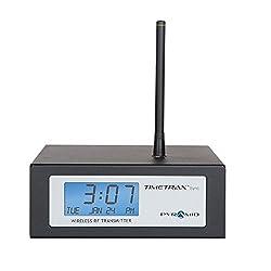 Pyramid TimeTrax Sync RF Wireless Clock Transmitter (9T1WI)