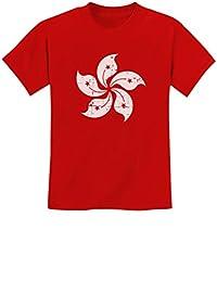 TeeStars - Vintage Hong Kong Flag Retro Style Youth Kids T-Shirt