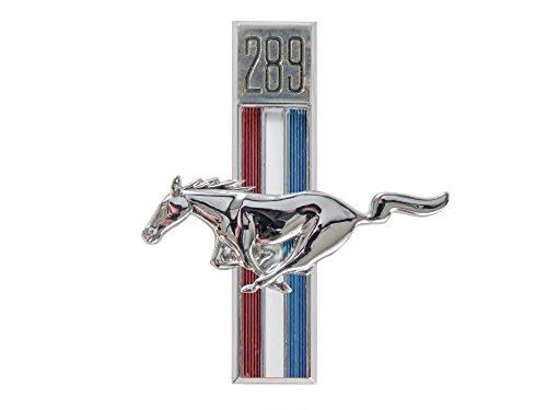 (Mustang Fender Emblem Running Horse LH 289 1967 - 1968)