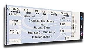 NHL St Louis Blues Keith Tkachuk 500 NHL Goal Mega Ticket