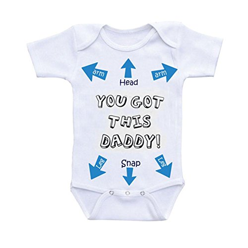 Newborn Toddler Fashion Romper GoodLock Baby Girls Boys Letter Romper Jumpsuit Sunsuit Clothes Set (Blue, Size:6-12M) from GoodLock_Baby Clothes