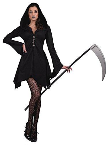 Dark Grim Reaper Costume - Grim Reaper Adult Costume - X-Large