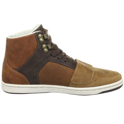 Sneaker Alta Cesario Da Uomo Creativo Ricreazione Mens Marrone