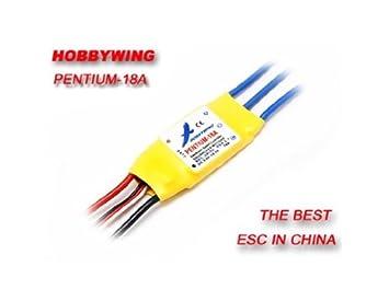 Amazon com: Hobbywing Pentium-18A Brushless Motor ESC Speed