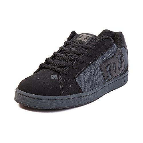 スクレーパー速報耕す(ディーシー) DC 靴?シューズ メンズスケートシューズ Mens DC Net Skate Shoe Black ブラック US 15 (33cm)
