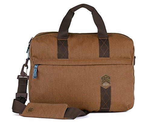 STM Judge Brief for Laptop & Tablet Up to 15-Inch - Desert Brown (stm-112-147P-10) ()
