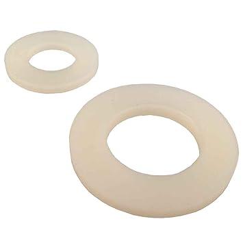 6,4 /_ 100 St/ück DIN125 Unterlegscheiben Scheiben Kunststoff Polyamid