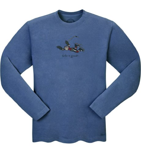 Life is Good Herren Crusher Long Sleeve Score T-shirt