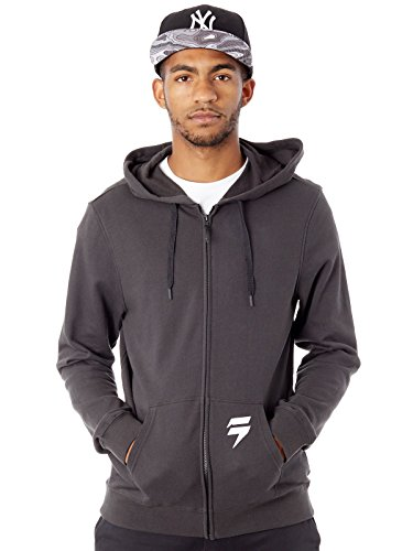 Shift Zip-Hoody 3lue Label Schwarz Gr. L