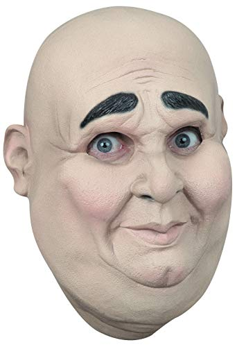 Ghoulish Productions Chunky Funny Face Latex Mask Old Man Halloween Full Over Head Mask]()