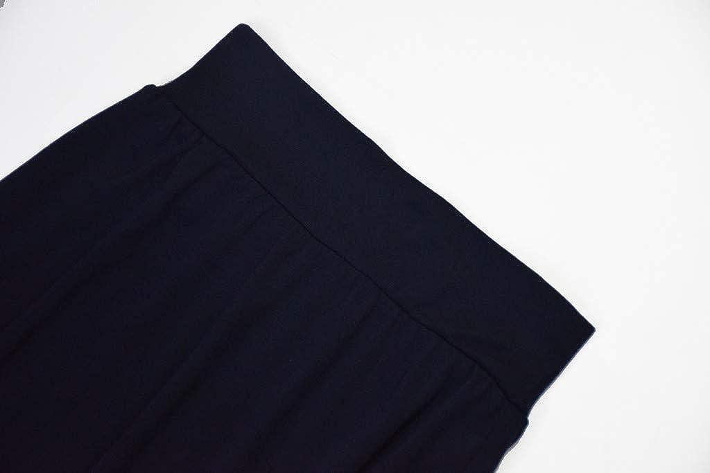 ACEBABY Falda Casual de Color s/ólido de Talle Alto para Mujer Mujeres Falda L/ápiz Cintura Alta Elasticidad Tubo Falda Oficina Colores Larga Vintage Bohemia Boho Flores Estampada Algodon