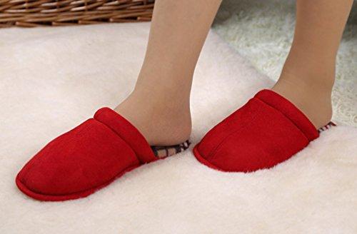 Pantofole Da Camera Da Letto Comode Pantofole Da Donna Cattior Rosse