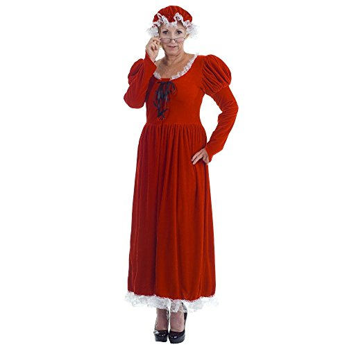 [Underwraps Women's The Mrs, Red/White, One Size] (Miss Elf Costumes)