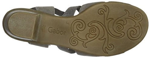 Gabor Gabor Comfort - Sandalias Mujer Gris - Grau (78 mineral)