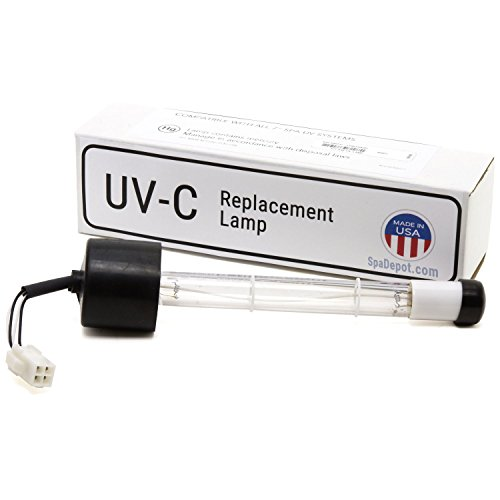 Ultra-Ray Clear UV-C Quartz Bulb Replacement XL for Hot Tub Spa (Ultra Spa)