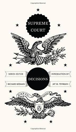 Supreme Court Decisions (Penguin Civic - Series Penguin