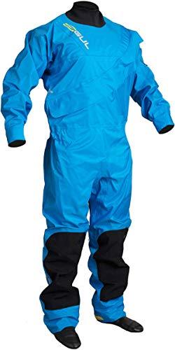 (GUL Junior Dartmouth Eclip Breathable Drysuit 2019 - Blue JL)