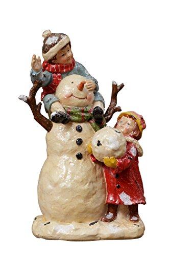 Your Heart s Delight Your 9.75 x 5.25 x 5.25 Decoration Children Snowman Figurine Statue Tabletop