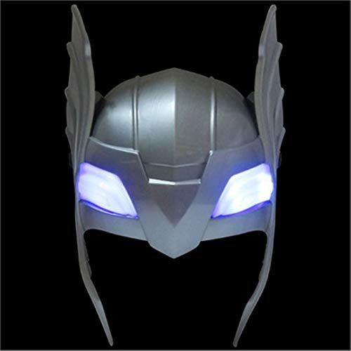 Zizu store 2019 new hot cakes Thorr avengers alliance series toy luminous voice Thorr hammer Halloween show props weapons model]()