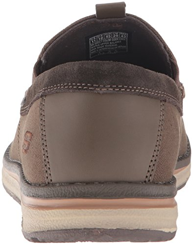 Skechers Usa Mens Melson Valerio Slip-on Loafer Choklad
