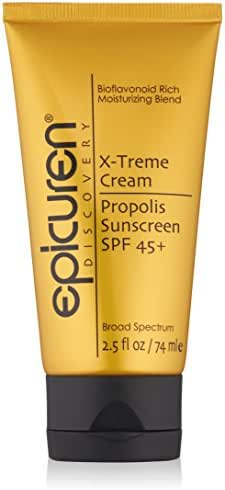 Epicuren Discovery X-treme Cream Propolis Sunscreen SPF 45+, 2.5 Fl Oz
