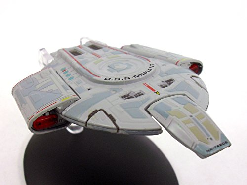 Star Trek USS Defiant Diecast Metal and Plastic Model and Magazine #9 ()