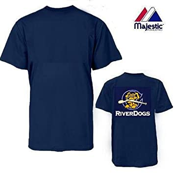 more photos 2b385 0e480 Charleston Riverdogs 100% Cotton Crewneck Official Minor League Replica  MiLB Jersey (Youth & Adult) *Customization Available