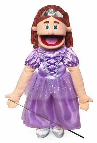 "25"" Princess, Peach Girl, Full Body, Ventriloquist Style Puppet"