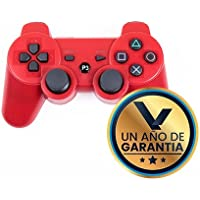 Virtual Zone Control Inalámbrico Compatible con Playstation 3 - con Cable de Carga (Rojo)