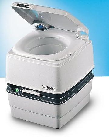 Tragbare Toilette Porta Potti 465 Electro Grau Thetford Sport Freizeit